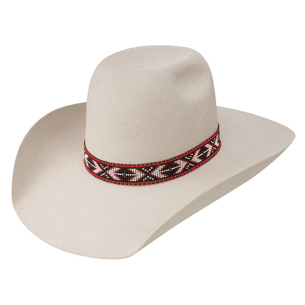 Resistol Mens Silver Belly Hooey Presidio 4x Felt Hat