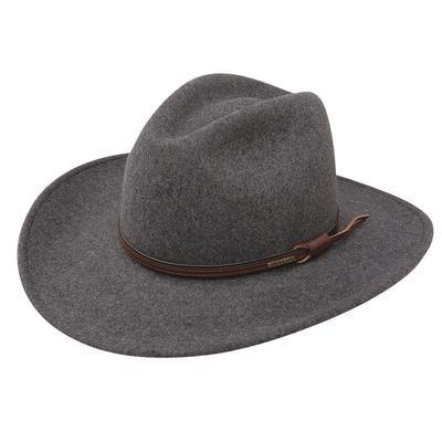 Stetson Men's Grey Bull Felt Hat