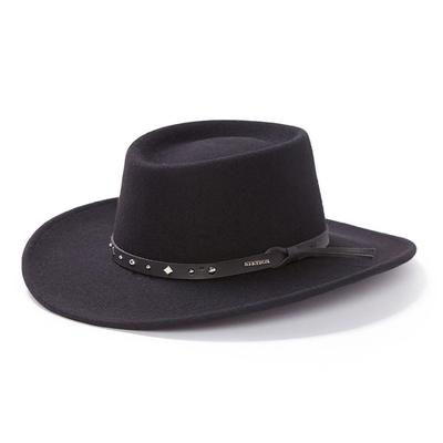 Stetson Men's Black Hawk Felt Hat
