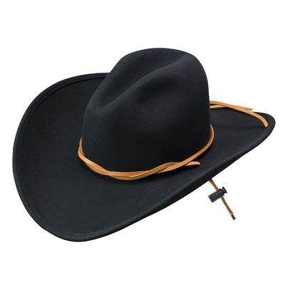 Stetson Men's Black Makinnon Felt Hat