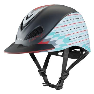 Fallon Taylor Grey Firestone Riding Helmet