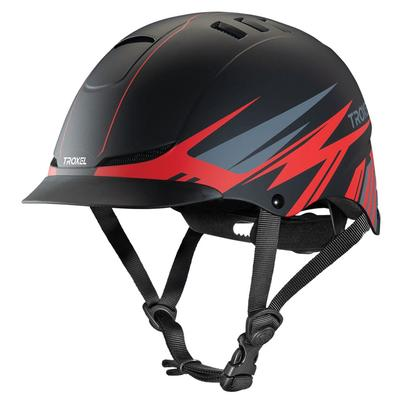 Texas Red Flash Riding Helmet