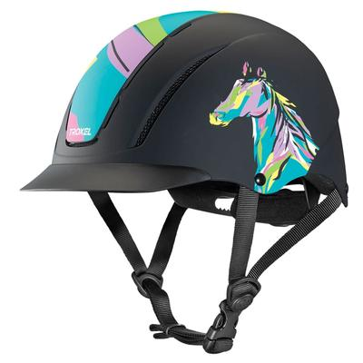 Pop Art Pony Riding Helmet