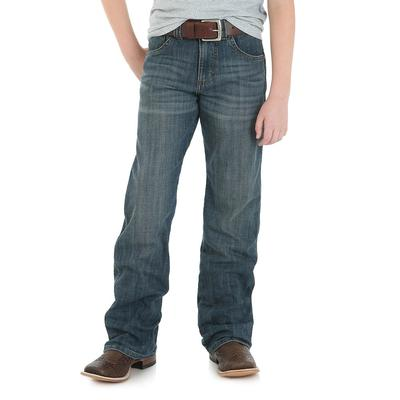 Wrangler Boy's Falls City Retro Relaxed Bootcut Jeans
