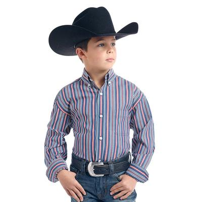 Panhandle Boy's Hanover Classic Striped Shirt