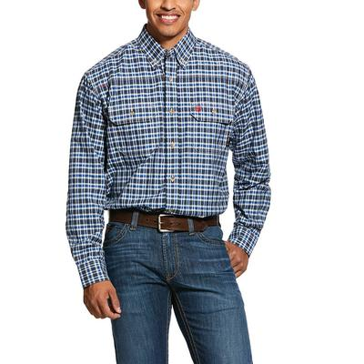 Ariat Men's Fr Plaid Featherlight Work Shirt