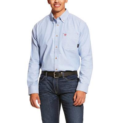 Ariat Men's FR Twill Durastretch Work Shirt