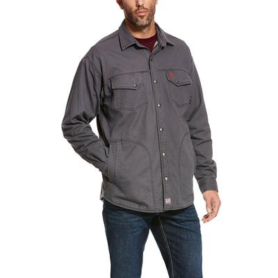 Ariat Men's FR Iron Grey Rig Shirt Jacket