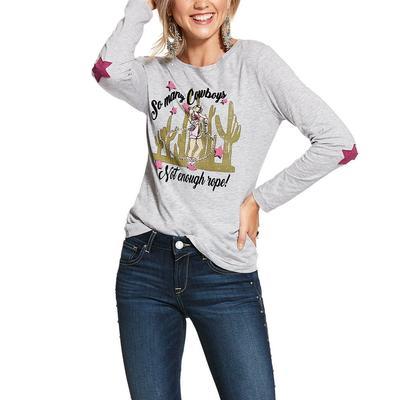 Ariat Women's Long Sleeve So Many Cowboys Shirt