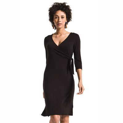 Z Supply Women's 3/4 Sleeve Dahlia Wrap Dress