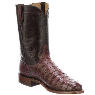 Lucchese Men's Sienna Gerard Caiman Boots