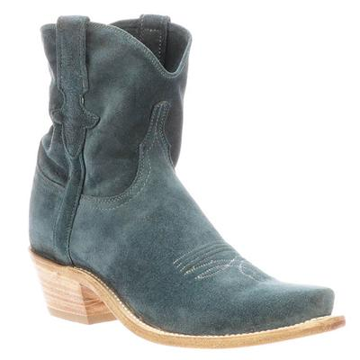 Lucchese Women's Teal Elena Suede Boots