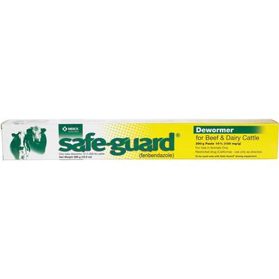 Safe-Guard Dewormer Paste for Beef & Dairy Cattle