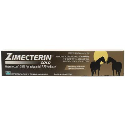 Zimecterin Gold Horse Wormer -1 single dose
