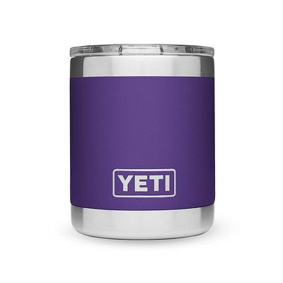 YETI Peak Purple Rambler 10oz Lowball