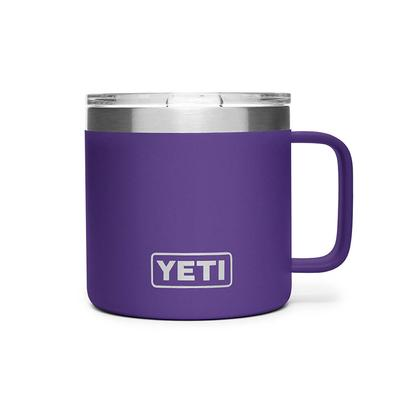 YETI Peak Purple Rambler 14oz Mug