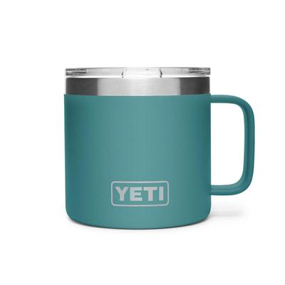 YETI River Green Rambler 14oz Mug