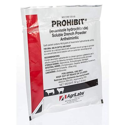 Prohibit Soluble Dewormer