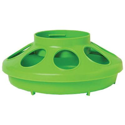 1 Qt Poultry Feeder Base Green