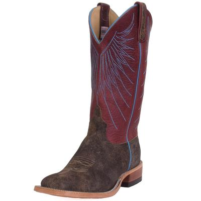 Anderson Bean Men's Garnet Sow And Bison Boots