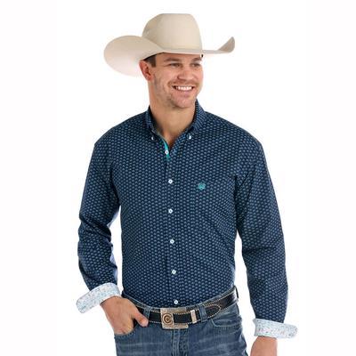 Rock & Roll Denim Men's Long Sleeve Button Down Shirt