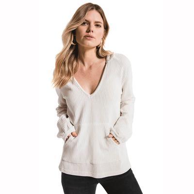 Z Supply Women's Long Sleeve Wide Wale Corduroy Top