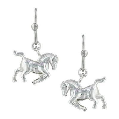 Montana Silversmith's Prancing Horse Earrings