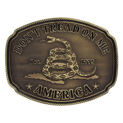 Montana Silversmith's Don't Tread On Me Belt Buckle