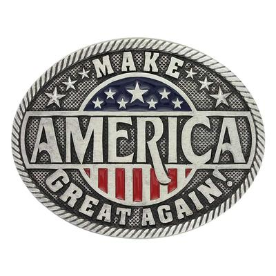 Montana Silversmith's Make America Great Again Belt Buckle