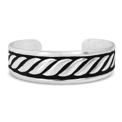 Montana Silversmith's Twisted Rope Cuff Bracelet