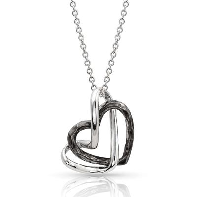 Montana Silversmith's Love Entwined Heart Necklace