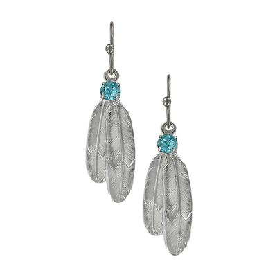 Montana Silversmith's Gift Of Freedom Feather Earrings