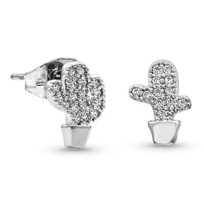 Montana Silversmith's Tiny But Tough Cactus Earrings