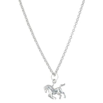 Montana Silversmith's Prancing Horse Necklace