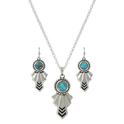 Montana Silversmith's South Western Turquoise Heaven Jewelry Set