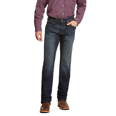 Ariat Men's M4 Low Rise TekStrech Miller Stackable Straight Leg Jean