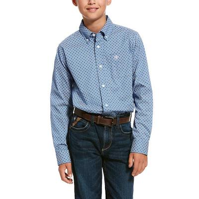 Ariat Boy's Stretch Classic Fit Shirt
