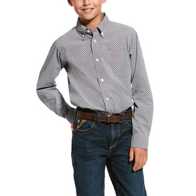 Ariat Boy's Urway Stretch Classic Fit Shirt