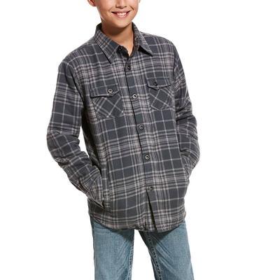 Ariat Boy's Karlsen Flannel Jacket