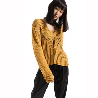 Rag Poets Women's Brownstone Sweater Top