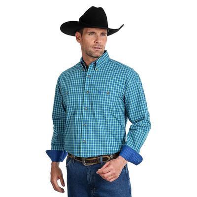 Wrangler Men's George Strait 2 Pocket Button Shirt