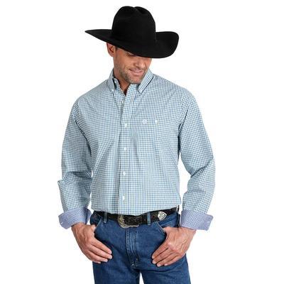 Wrangler Men's George Strait One Pocket Button Down Shirt