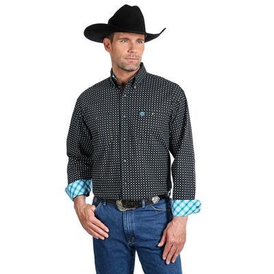 George Strait Men's Two Pocket Button Down Shirt