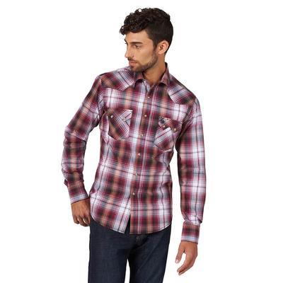 Men's Wrangler Retro SawTooth Snap Pocket Western Shirt