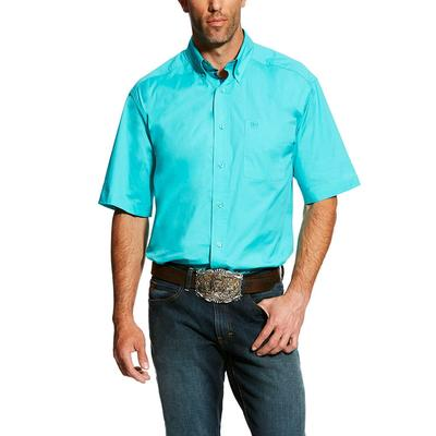 Ariat Men's Short Sleeve Stretch Casual Shirt