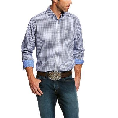 Ariat Men's Long Sleeve Wrinkle Free Classic Laker Shirt