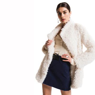 White Crow Women's Cruz Fur Jacket
