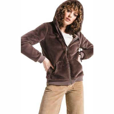 Others Follow Women's Rosie Fur Zip Hoodie