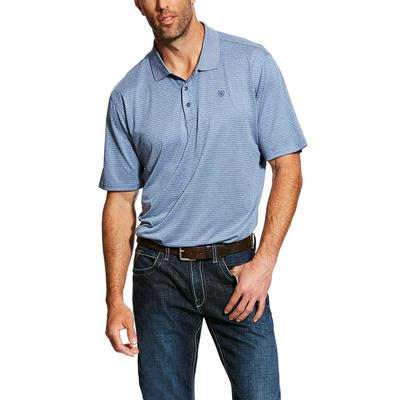 Ariat Men's Short Sleeve Fade TEK Polo Shirt