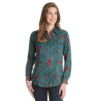Wrangler Women's Floral Snap Shirt